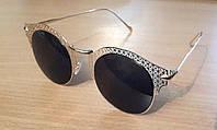 Очки солнцезащитные с перфорированной оправой