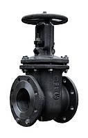 Задвижка стальная 30с41нж Ду 100, Ру 16 клиновая литая с выдвижным шпинделем