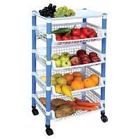 Полка для хранения овощей Квадратная со столом