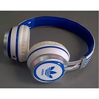 Наушники накладные Adidas AD-188 Бело-синие