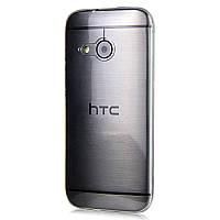 Чехол силиконовый Ультратонкий Epik для HTC One M8 mini (One mini 2) Прозрачный