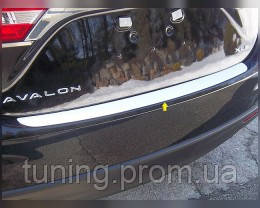 Накладка для заднего бампера Toyota Avalon 2013-on