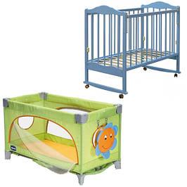 Детские кровати, манежи