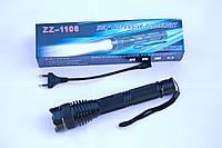 Светодиодный фонарь электрошокер Police ZZ-1106