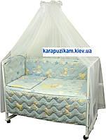 """Набор в детскую кроватку """"Мышка с звездой"""""""
