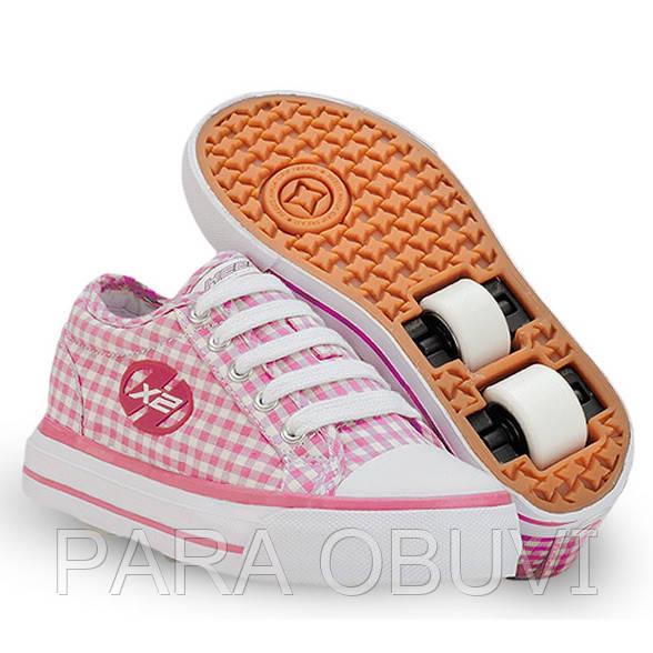 497d3e7ba356d2 Роликовые кроссовки,кеды HEELYS НХ 2 Jazzy 7641: продажа, цена в ...