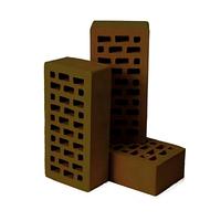 Кирпич облицовочный Евротон коричневый
