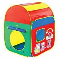 Палатка детская игровая веселый паровозик 8113