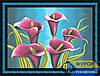 Схема для вышивки бисером - Красивые каллы , Арт. НБп2-011-3