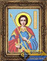 Схема иконы для вышивки бисером - Георгий Победоносец Св. Великомученик, Арт. ИБ5-019-1