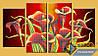 Схема для вышивки бисером - Красивый букет калл, Арт. МКч-020