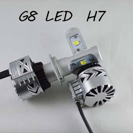 Комплект LED ламп в основные фонари, Цоколь Н7, серия G8, 36W, 6000 Люмен/Комплект, фото 2