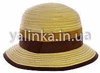 """Шляпа летняя """"Классика"""" светлая"""