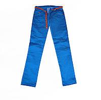 Цветные джинсы для девочки детские в точечку