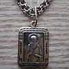 Серебряная подвеска-ладанка Максим Исповедник, фото 4
