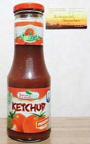 ВЕГА натуральный кетчуп пикантный BIO 315 гр Primaeco