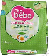 Детский стиральный порошок Teo Bebe алое 2,4кг Болгария