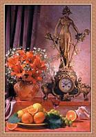 Фотообои  для кухни Старинные часы размер 140 х 97 см