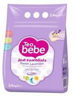 Детский стиральный порошок Teo Bebe лаванда  2,4кг Болгария