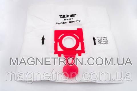 """Мешок микроволокно для пылесосов Zelmer 49.4200 """"SAFBAG"""" 11002173"""