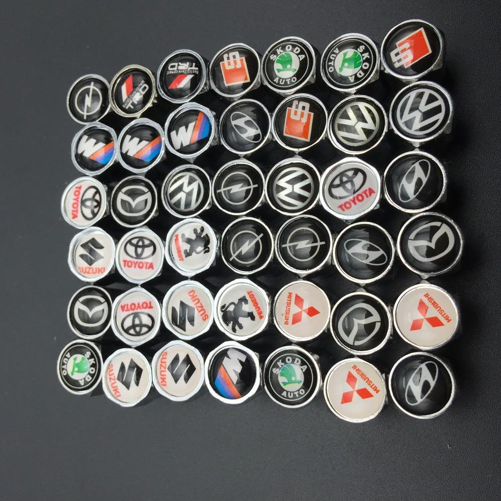 Крышечки \ Колпачки \ золотники на ниппель с логотипом Авто Mazda