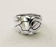 Серебреное кольцо головоломка от Wickerring