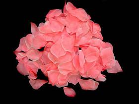 Пелюстки троянд з тканини рожеві 150 шт.