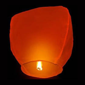 Небесный фонарик Купол (красный)