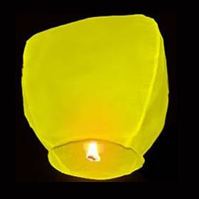 Небесный фонарик Купол (желтый)