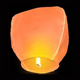 Небесный фонарик Купол (оранжевый)