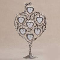 "Фоторамка семейное древо ""Сердца в сердце"""