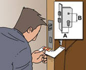 Поменять или заменить замок в металлической  двери отечественного или импортного производства Днепропетровск