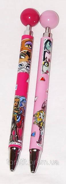 Ручка шариковая, автоматическая (клип-шар) «Monster High», 1шт