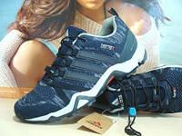 Мужские кроссовки для бега Adidas terrex (реплика) синие 43 р., фото 1