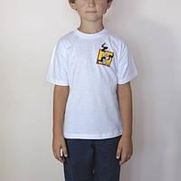 Футболка детская белая, хлопок, размеры от 3 до 9 лет, очень хорошее качество!