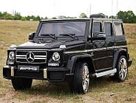 Детский электромобиль Mercedes G63 AMG черного цвета