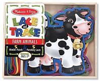 Деревянная игра-шнуровка Melissa & Doug «Ферма» (MD3781)