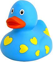 Детская игрушка Lilalu | Funny Ducks Голубая утка в сердечках (L1042)