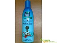 Кокосовое масло Сампурна Parachute Sampoorna для волос с экстрактами гибискуса и миндальным маслом.