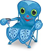 Детский раскладной стульчик Melissa & Doug Осьминог Флекс (MD6418)