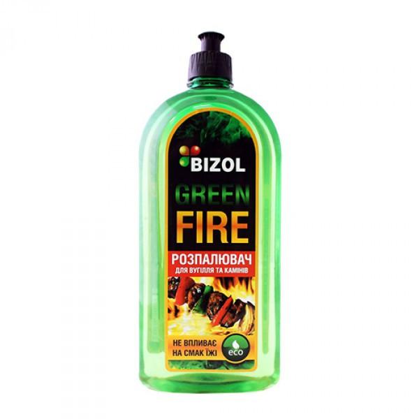 Розжигатель угля и каминов - Bizol GREEN FIRE 0.5Л