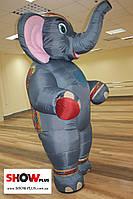 Пневмокостюм, надувной костюм Слон