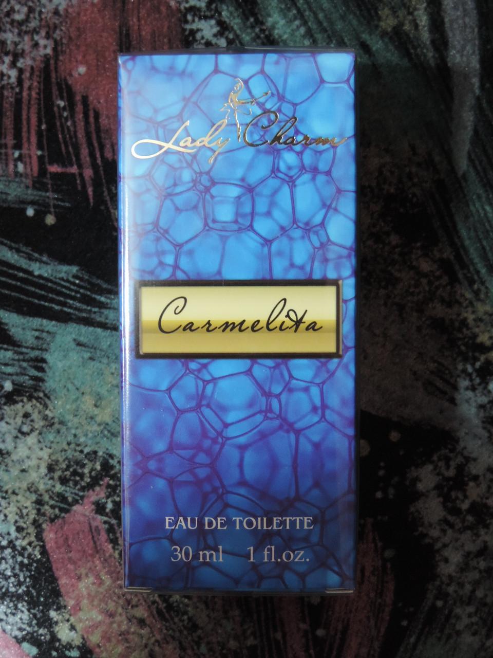 """Туалетная вода """"Кармелита"""" - 30 мл."""