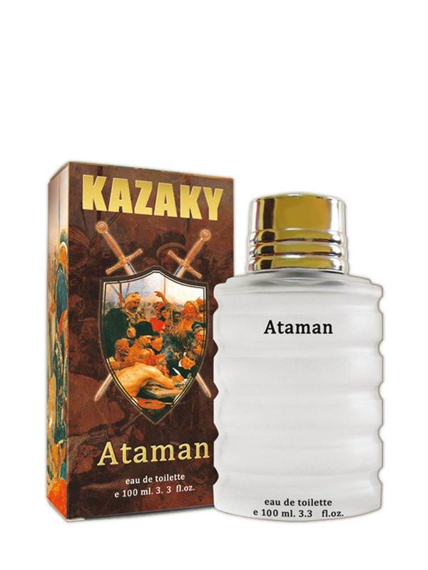 """Туалетная вода Kazaky. """"Атаман"""", """"Сотник"""", """"Есаул"""" - 100 мл."""