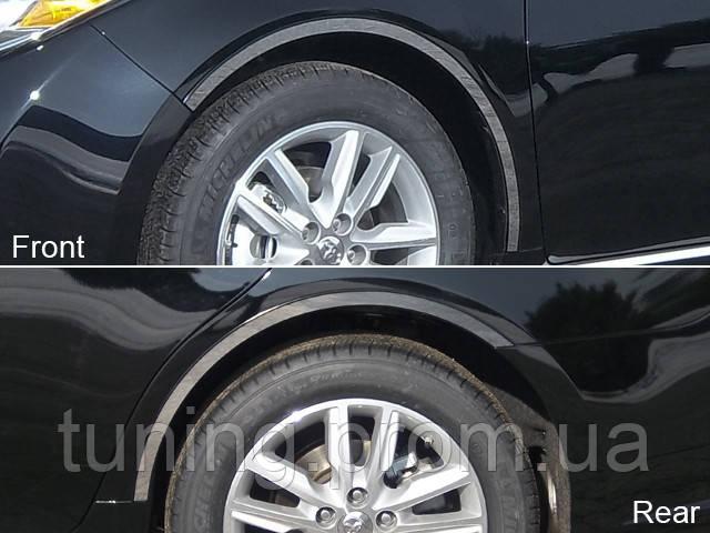 Хром накладки на колёсные арки Toyota Avalon 2013-on