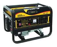 Генератор FORTE FG2500 ном. мощ. 2 кВт, бак 15,0 л, расх. 550 гр/кВтч, вес 45 кг BPS