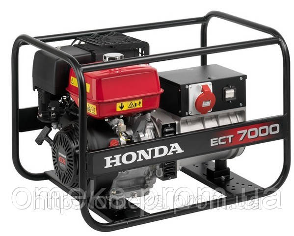 Электрогенератор Honda ECT7000K1 GVW