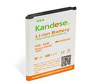 Усиленный аккумулятор Samsung Galaxy Grand Duos I9082  EB-535163LU Kandese