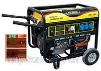 Бензиновый генератор  FORTE FG6500E (+ блок автоматики) BPS