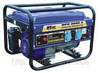 Генератор WERK WPG3600A 2.5 кВт, бак 15 л, расход. топлива 550 гр/кВт*час, вес 45 кг